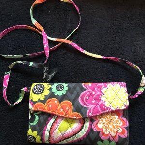 Vera Bradley wallet/ cross body purse
